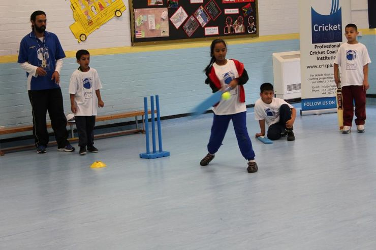 Cricket Plus working with young talent!!!