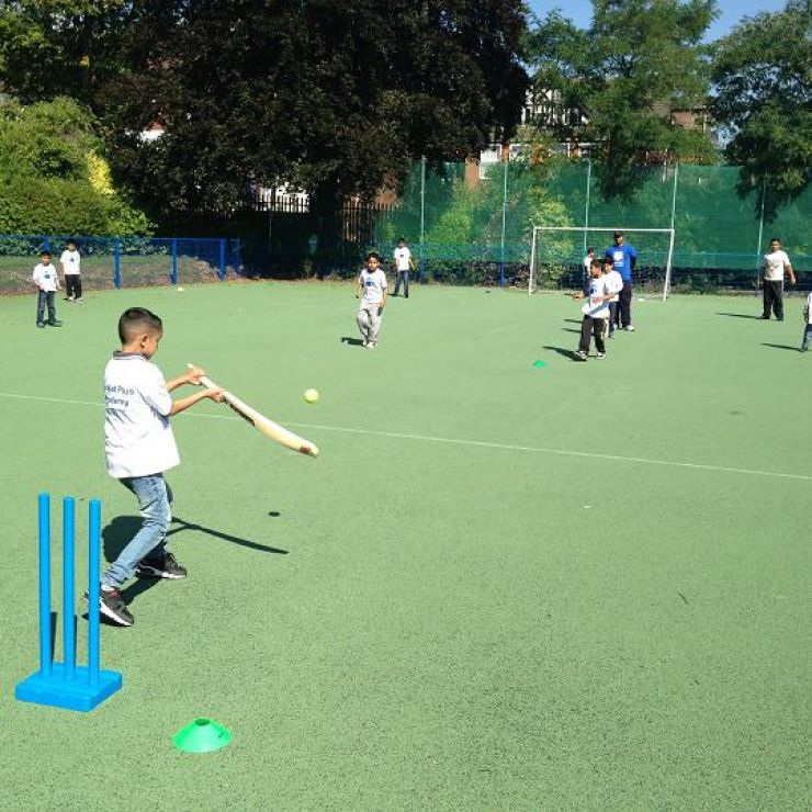 Kwik Cricket at Cricket Plus Academy!!! Where the youngsters showed their talent.....