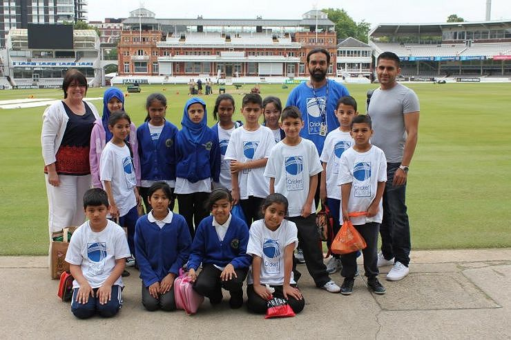 Cricket Plus Young Talent Visit Lord's Cricket Ground