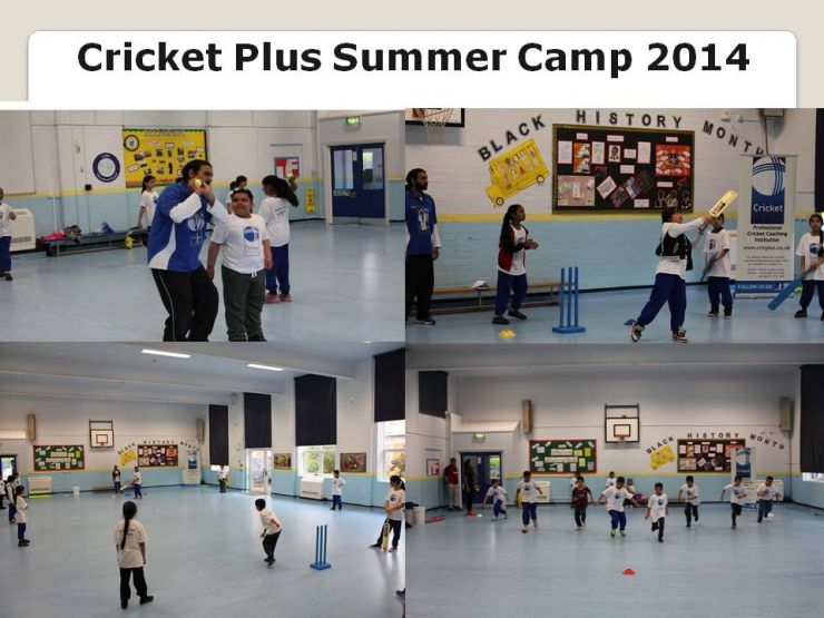 Cricket Plus Summer Camp 2014